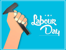 Labour Day Abstract. Creative  abstract for Happy Labour Day of Australia with nice and creative illustration in a background Stock Image