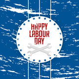 Labour Day Abstract Stock Images