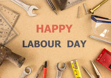 Labour day background Stock Image