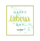 Labour Day Card Royalty Free Stock Image