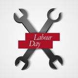 Labour Day. Creative  abstract for Labour Day with nice illustration in a creative background Royalty Free Stock Photos