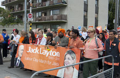 Labour Day March at the CNE Royalty Free Stock Images
