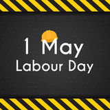 Labour Day 1 May Poster. Vector Illustration Background Royalty Free Stock Photography