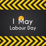 Labour Day 1 May Poster. Vector Illustration Background Royalty Free Stock Photos