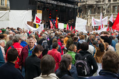 Labour Day Rally in Munich Royalty Free Stock Image