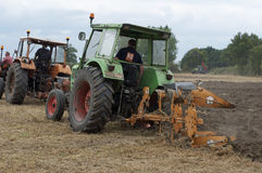 Labour Day in Sable sur Sarthe, France ,October 4, 2014 Royalty Free Stock Photos