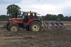 Labour Day in Sable sur Sarthe, France ,October 4, 2014 Royalty Free Stock Image