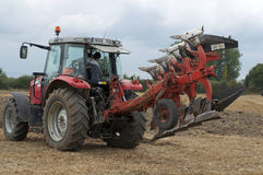 Labour Day in Sable sur Sarthe, France ,October 4, 2014 Stock Images