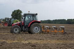 Labour Day in Sable sur Sarthe, France ,October 4, 2014 Stock Photography