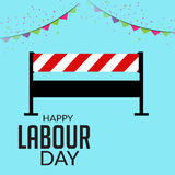 Labour Day. Royalty Free Stock Photo