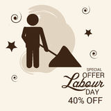 Labour Day. Royalty Free Stock Images