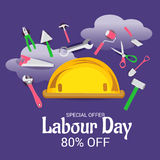 Labour Day. Royalty Free Stock Image