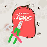 Labour Day. Vector illustration of a Banner for Labour Day Royalty Free Stock Photography