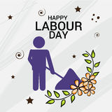 Labour Day. Vector illustration of a Banner for Labour Day Royalty Free Stock Images