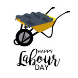 Labour Day. Vector illustration of a Banner for Labour Day Stock Image
