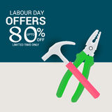 Labour Day. Royalty Free Stock Photography