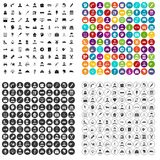 100 labour icons set vector variant. 100 labour icons set vector in 4 variant for any web design isolated on white Royalty Free Stock Photo