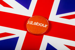 Labour parti Pin Badge Royaltyfria Bilder