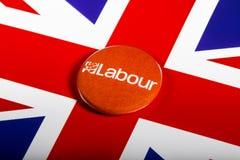 Labour Party Pin Badge Stockbild