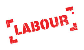 Labour rubber stamp Royalty Free Stock Photography