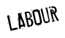 Labour rubber stamp Royalty Free Stock Images