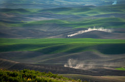 Labourage de Palouse Photos stock