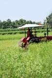 Labourage du fermier image libre de droits