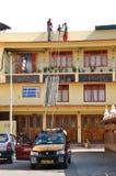 Laboursaving Einheit, zum auf Dachplattform hochzuschieben Lizenzfreies Stockbild