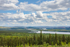 Labrador City and Wabush mining towns NL Canada Stock Image