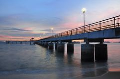 Labrador Park Jetty in Singapore Royalty Free Stock Photos