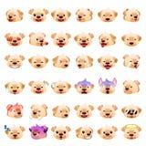 Labrador Retrievers Dog Emoji Emoticon Expression Stock Images
