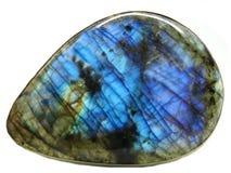 Labradore geologisch kristal royalty-vrije stock foto's