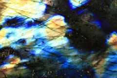 Labradorite mineral background Stock Images