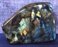 Labradoritekristall arkivbilder