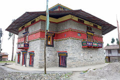 Labrang Gompa, Sikkim, Indien Stockfoto