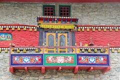 Labrang Gompa, Sikkim, Indien Lizenzfreies Stockbild