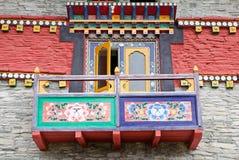 Labrang Gompa, Sikkim, Indien Stockfotos