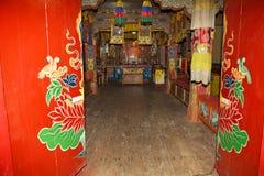 Labrang Gompa, Sikkim, Indien Lizenzfreies Stockfoto