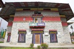 Labrang Gompa, Sikkim, Indien Stockbild
