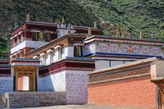 Labrang Lamasery obraz stock