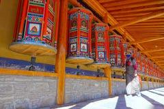 Labrang Lamasery lizenzfreies stockfoto