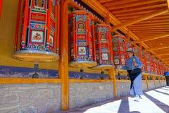 Labrang Lamasery lizenzfreies stockbild