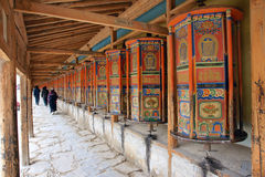 Labrang Lamasery Royalty Free Stock Photography