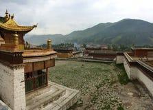 Labrang Lamasery fotografia royalty free