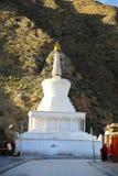 Labrang Lamasery des tibetanischen Buddhismus in China stockfotografie