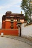 Labrang Lamasery do budismo tibetano em China Imagens de Stock Royalty Free
