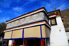 Labrang Lamasery do budismo tibetano em China Fotografia de Stock Royalty Free