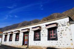 Labrang Lamasery do budismo tibetano em China Fotos de Stock