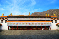 Labrang Lamasery of Tibetan Buddhism in China Royalty Free Stock Photography
