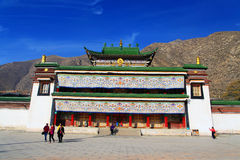 Labrang Lamasery of Tibetan Buddhism in China Royalty Free Stock Image
